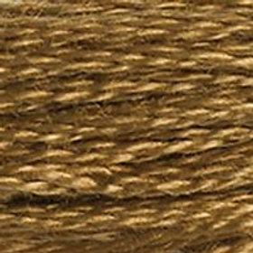DM117-0435 STRANDED COTTON 8M SKEIN Tobacco Brown