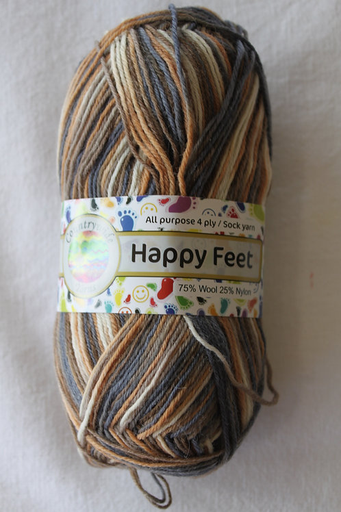 Happy Feet 4PLY DK 75% Wool / 25% Nylon 50gm Shade 36