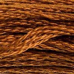 DM117-0400 STRANDED COTTON 8M SKEIN Brown