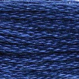 DM117-0824 STRANDED COTTON 8M SKEIN Ocean Blue