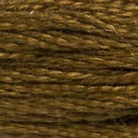 DM117-0829 STRANDED COTTON 8M SKEIN Dark Green Bronze
