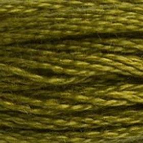 DM117-0732 STRANDED COTTON 8M SKEIN Bronze Green