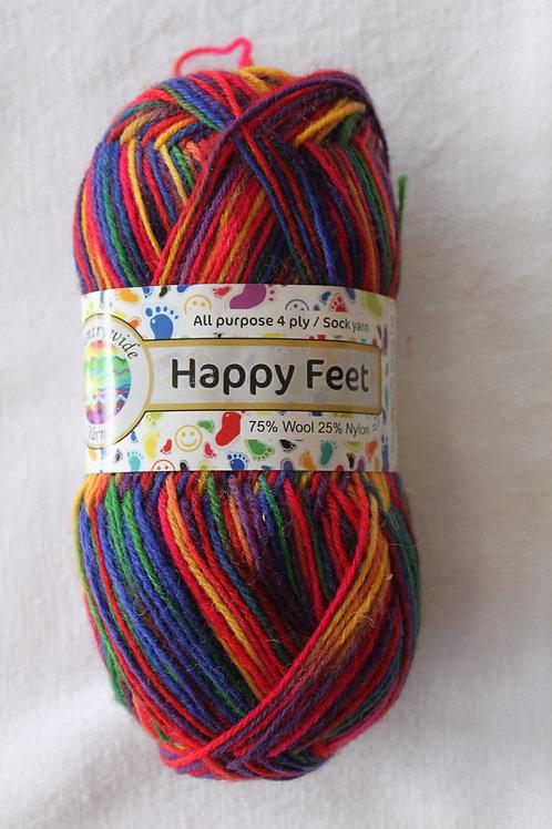 Happy Feet 4PLY DK 75% Wool / 25% Nylon 50gm Shade 32