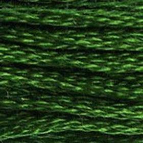 DM117-0986 STRANDED COTTON 8M SKEIN Dark Forest Green