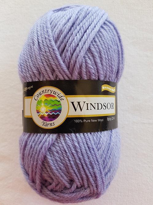 Windsor Standard 8 PLY DK 100% Wool 50gm Lilac