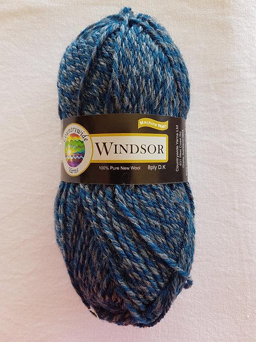 Windsor Marl 8 PLY DK 100% Wool 50gm