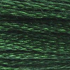 DM117-0895 STRANDED COTTON 8M SKEIN Bottle Green