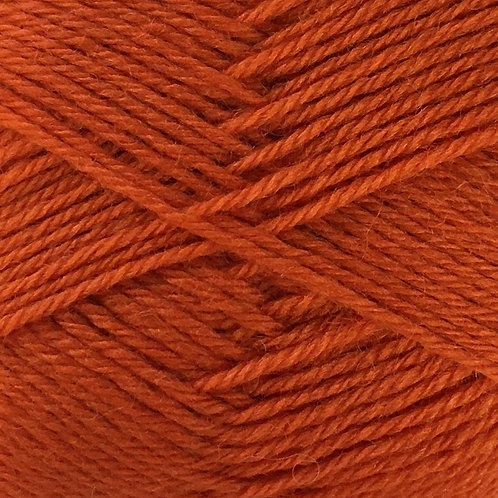 Crucci - 4ply 100% Pure New Zealand Soft Wool Sh 6 Rust