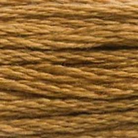 DM117-0167 STRANDED COTTON 8M SKEIN Dark Mustard Brown