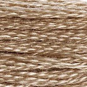 DM117-3864 STRANDED COTTON 8M SKEIN Light Mocha Brown
