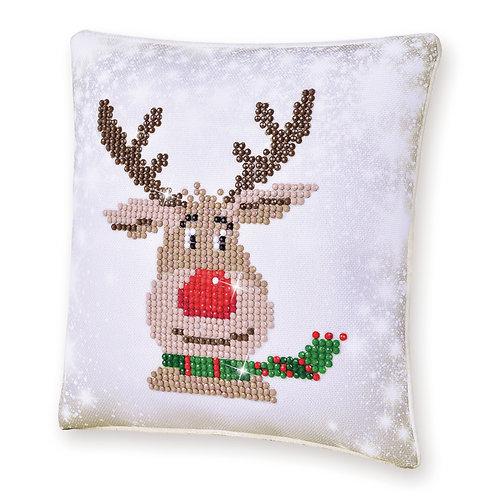 Christmas Reindeer (Mini Pillow)