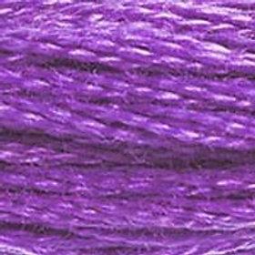 DM117-0552 STRANDED COTTON 8M SKEIN Violet