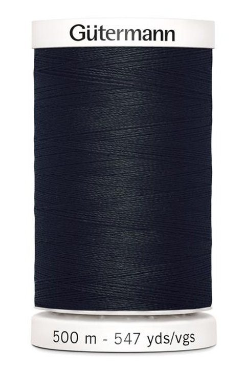 Gutermann Sew all Thread 100% polyester 500m #000