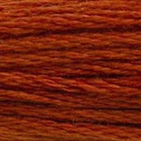 DM117-0355 STRANDED COTTON 8M SKEIN Brown Red