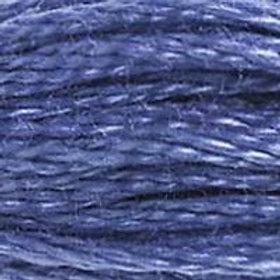 DM117-0322 STRANDED COTTON 8M SKEIN Delft Blue
