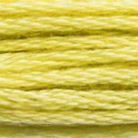 DM117-0165 STRANDED COTTON 8M SKEIN Pale Moss Green