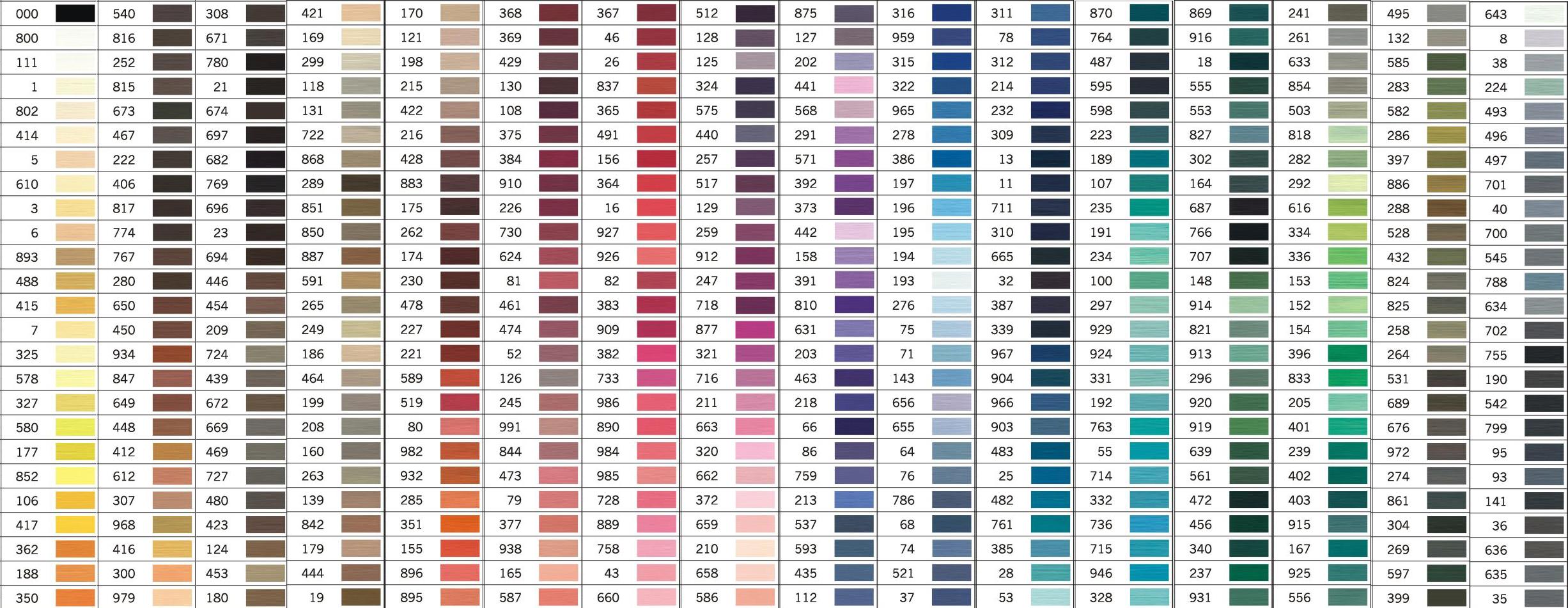 Mashup Gutermann colour chart.png