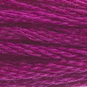 DM117-0917 STRANDED COTTON 8M SKEIN Bougainvillea Fuchsia