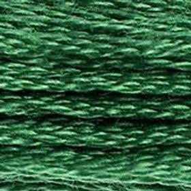 DM117-0910 STRANDED COTTON 8M SKEIN Dark Emerald Green
