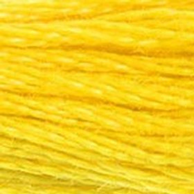 DM117-0444 STRANDED COTTON 8M SKEIN Bright Yellow