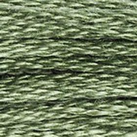 DM117-3363 STRANDED COTTON 8M SKEIN Herb Green