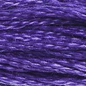 DM117-0333 STRANDED COTTON 8M SKEIN Deep Violet