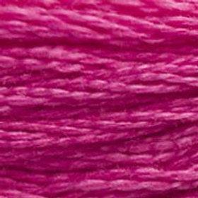 DM117-3805 STRANDED COTTON 8M SKEIN Fuchsia Pink