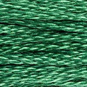 DM117-0911 STRANDED COTTON 8M SKEIN Golf Green