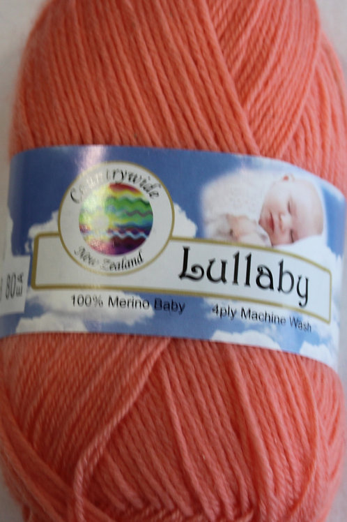 Lullaby 4 PLY DK 100% Merino 50gm Apricot