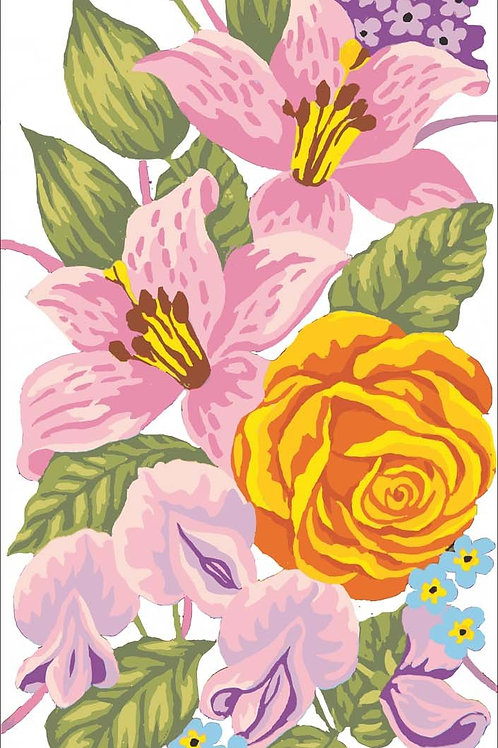 Grafitec Printed Tapestry Roses & Lilly