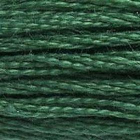 DM117-0505 STRANDED COTTON 8M SKEIN Pine Forest Green
