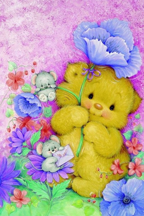 Grafitec Printed Tapestry Teddy Hug
