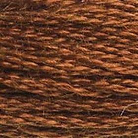 DM117-0300 STRANDED COTTON 8M SKEIN Mahogany