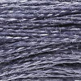 DM117-0414 STRANDED COTTON 8M SKEIN Lead Grey