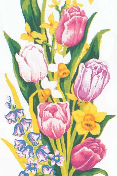 Grafitec Printed Tapestry Tulips