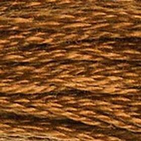 DM117-0434 STRANDED COTTON 8M SKEIN Cigar Brown