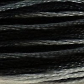 DM117-0053 STRANDED COTTON 8M SKEIN Variegated Steel Gray