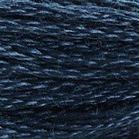 DM117-3750 STRANDED COTTON 8M SKEIN Deep Petrol Blue