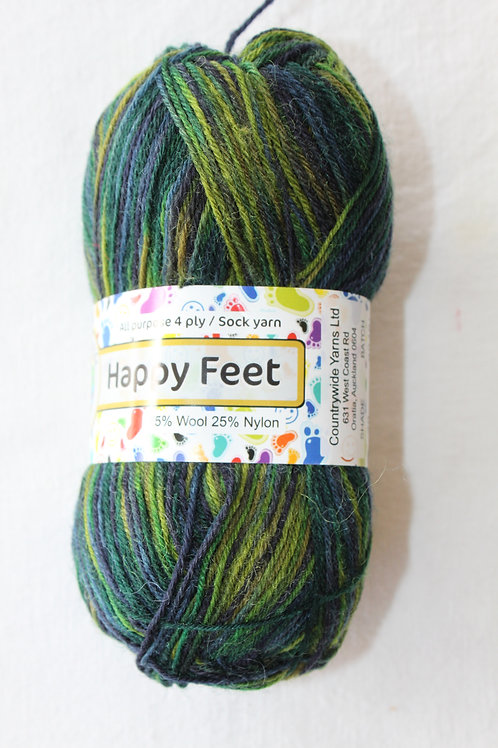 Happy Feet 4PLY DK 75% Wool / 25% Nylon 50gm Shade 20