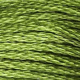DM117-0470 STRANDED COTTON 8M SKEIN Olive Green