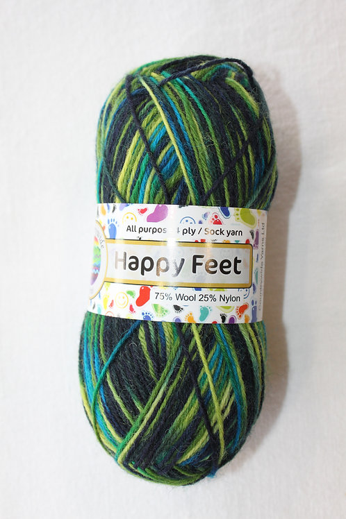 Happy Feet 4PLY DK 75% Wool / 25% Nylon 50gm Shade 31