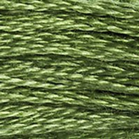 DM117-3347 STRANDED COTTON 8M SKEIN Insect Green