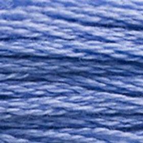 DM117-3839 STRANDED COTTON 8M SKEIN Mediterranean Blue