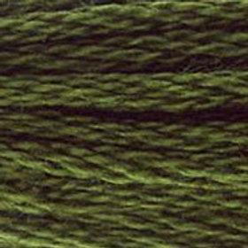 DM117-0936 STRANDED COTTON 8M SKEIN Oaktree Moss Green