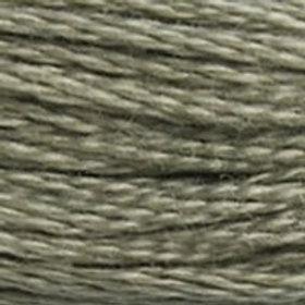 DM117-3022 STRANDED COTTON 8M SKEIN Elephant Grey