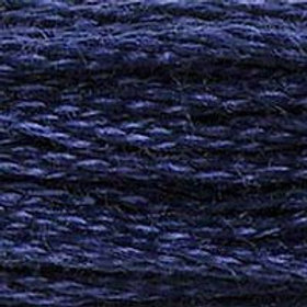 DM117-0336 STRANDED COTTON 8M SKEIN Indigo Blue