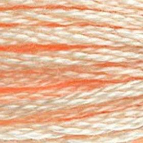 DM117-0951 STRANDED COTTON 8M SKEIN Light Eggshell Cream