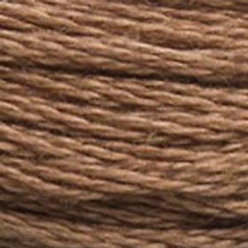 DM117-3862 STRANDED COTTON 8M SKEIN Mocha Brown