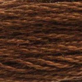 DM117-0801 STRANDED COTTON 8M SKEIN Mink Brown