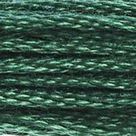 DM117-0561 STRANDED COTTON 8M SKEIN Cypress Tree Green
